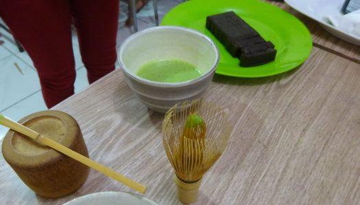 本物のJapanese Green Teaを初体験!