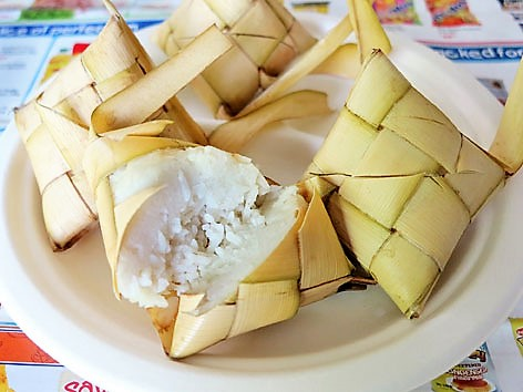 Traditional foods from Cebu, Philippines