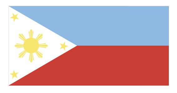 フィリピン国旗に隠された意味とは? | 誰でもヒーロー