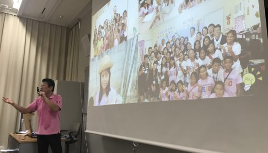 代表による講演会を行いました!- インターン生日本での活動報告