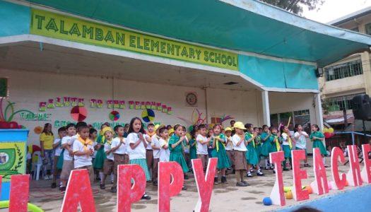 フィリピン人の心に触れた「TEACHER'S DAY」