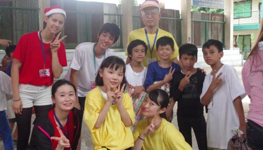 クリスマスボランティア体験談