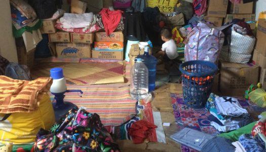 イナヤワン地区火災被災者支援