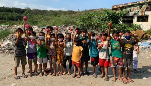 貧困地区での栄養指導プロジェクト!